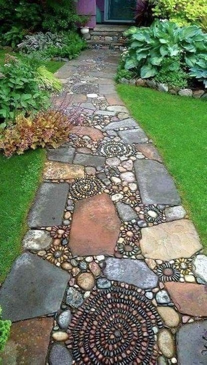 Pretty Front Yard Rock Garden And Landscaping Ideas26