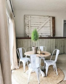 Romantic Rustic Farmhouse Dining Room Makeover Ideas05