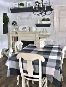 Romantic Rustic Farmhouse Dining Room Makeover Ideas13