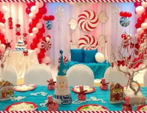 Simple Diy Winter Party Decoration Ideas22