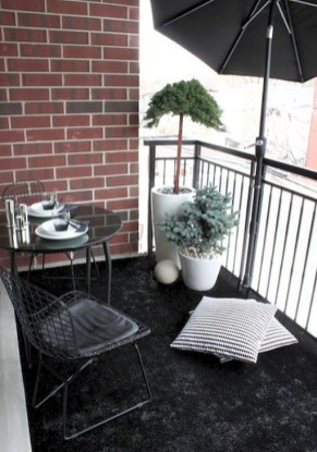 Unique Apartment Balcony Design And Decor Ideas44