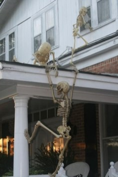 Unique Crafty Diy Outdoor Halloween Decorating Ideas14
