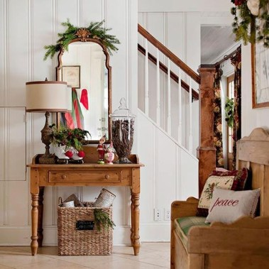 Amazing Christmas Decorating Ideas For Small Spaces22