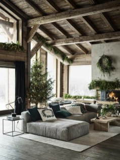 Comfy Christmas Living Room Decoration Ideas23