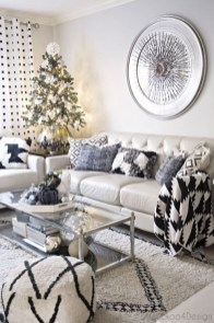 Comfy Christmas Living Room Decoration Ideas31