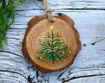 Gorgeous Rustic Christmas Tree Decoration Ideas02