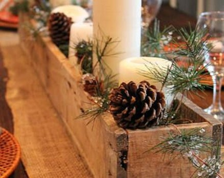 Gorgeous Rustic Christmas Tree Decoration Ideas35