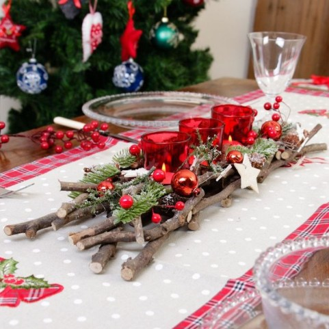 Gorgeous Rustic Christmas Tree Decoration Ideas45
