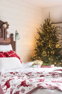 Modern Farmhouse Christmas Tree Ideas23