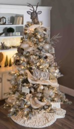Modern Farmhouse Christmas Tree Ideas40