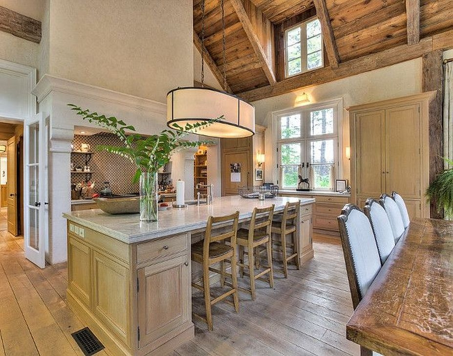 Popular French Country Kitchen Decoration Ideas For Home43
