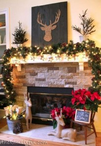 Romantic Rustic Christmas Decoration Ideas29
