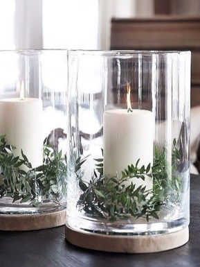 Romantic Rustic Christmas Decoration Ideas34