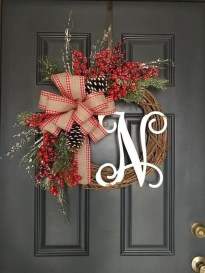 Romantic Rustic Christmas Decoration Ideas39