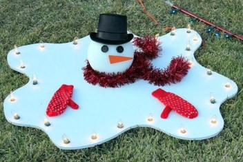 Stylish Diy Outdoor Christmas Decoration Ideas28