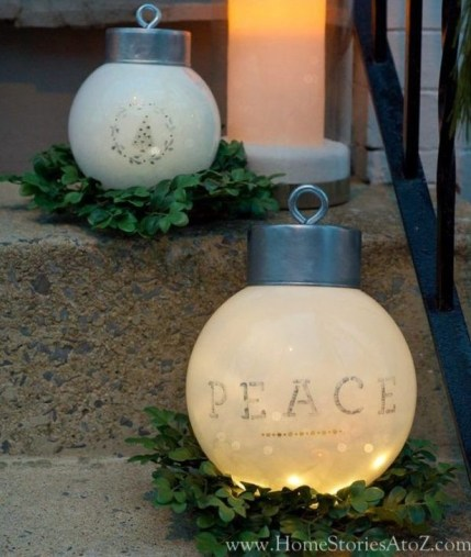 Stylish Diy Outdoor Christmas Decoration Ideas46