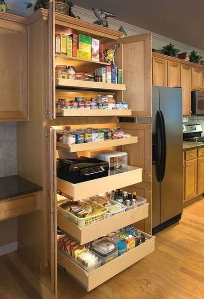 Cheap Kitchen Storage Organization Ideas12