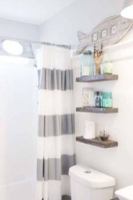 Cozy Coastal Style Nautical Bathroom Designs Ideas14