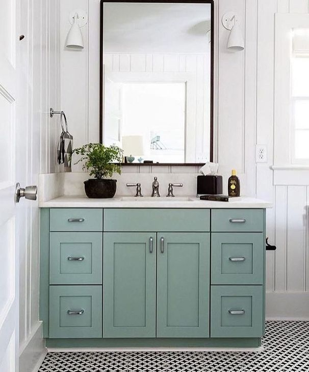 Cozy Coastal Style Nautical Bathroom Designs Ideas45