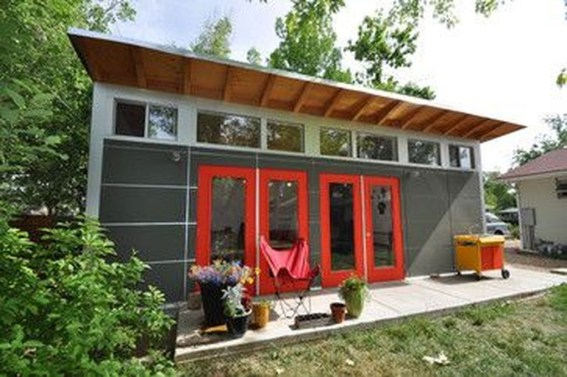 Fascinating Diy Backyard Studio Shed Remodel Design Decor Ideas12