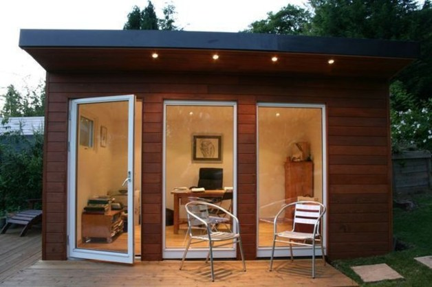 Fascinating Diy Backyard Studio Shed Remodel Design Decor Ideas17