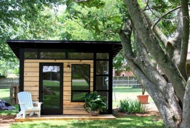 Fascinating Diy Backyard Studio Shed Remodel Design Decor Ideas33