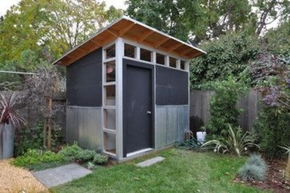 Fascinating Diy Backyard Studio Shed Remodel Design Decor Ideas36