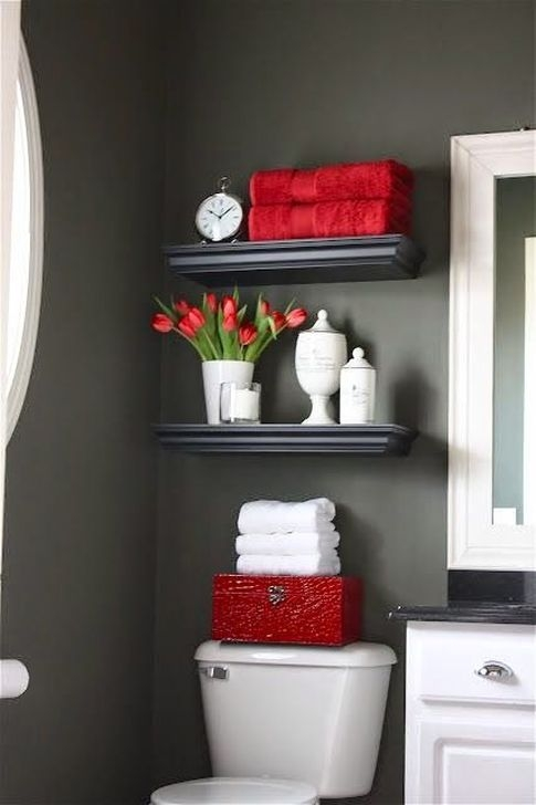 Pretty Master Bathroom Decoration Ideas For Valentines Day09