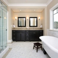 Pretty Master Bathroom Decoration Ideas For Valentines Day26