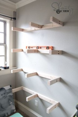 Stunning Diy Floating Shelves Living Room Decorating Ideas06