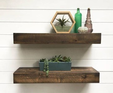 Stunning Diy Floating Shelves Living Room Decorating Ideas25