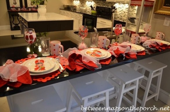 Stunning Table Decoration Ideas For Valentine'S Day30