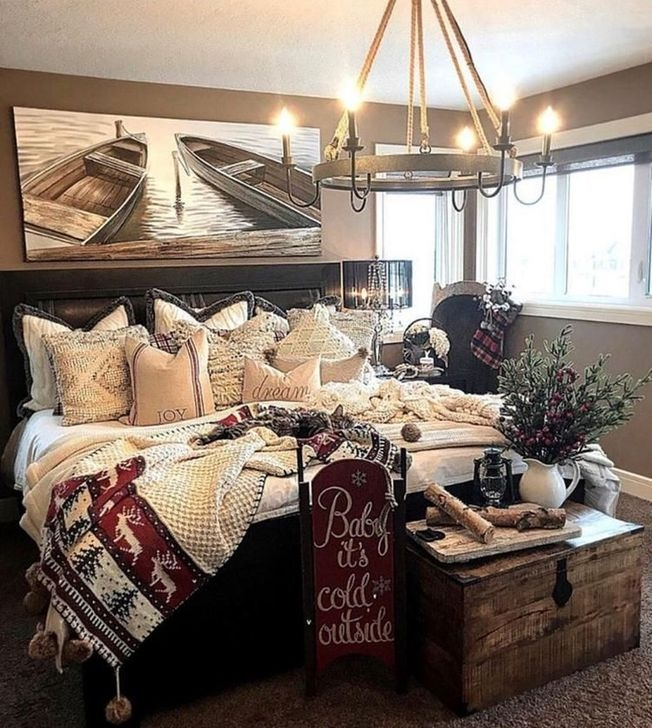 Affordable Lake House Bedroom Decorating Ideas20