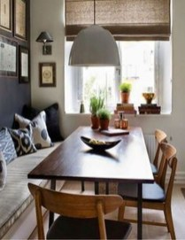Captivating Farmhouse Dining Room Table Decorating Ideas10