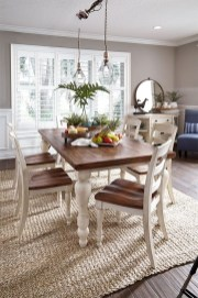 Captivating Farmhouse Dining Room Table Decorating Ideas11