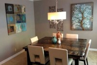 Captivating Farmhouse Dining Room Table Decorating Ideas46