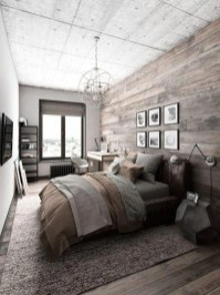Comfy Urban Farmhouse Master Bedroom Design Ideas19