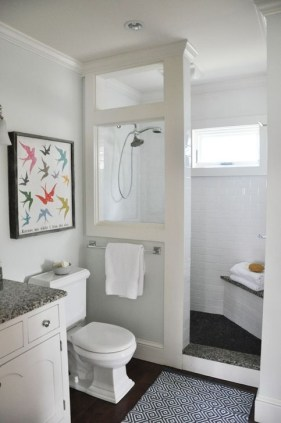 Cute Farmhouse Bathroom Remodel Ideas On A Budget06