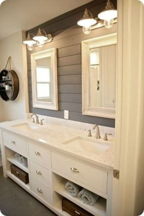 Cute Farmhouse Bathroom Remodel Ideas On A Budget07