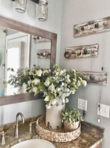 Cute Farmhouse Bathroom Remodel Ideas On A Budget12
