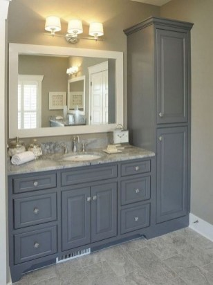 Cute Farmhouse Bathroom Remodel Ideas On A Budget24