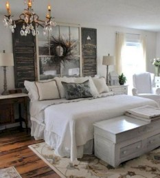 Inspiring Farmhouse Style Master Bedroom Decoration Ideas34