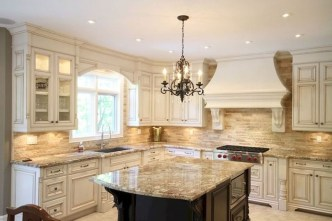 Latest French Country Kitchen Design Ideas23
