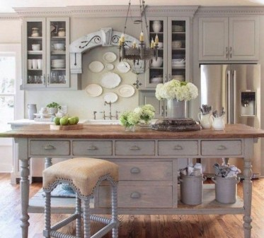 Latest French Country Kitchen Design Ideas32