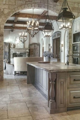 Latest French Country Kitchen Design Ideas36