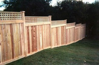 Stylish Wooden Privacy Fence Patio Backyard Landscaping Ideas17