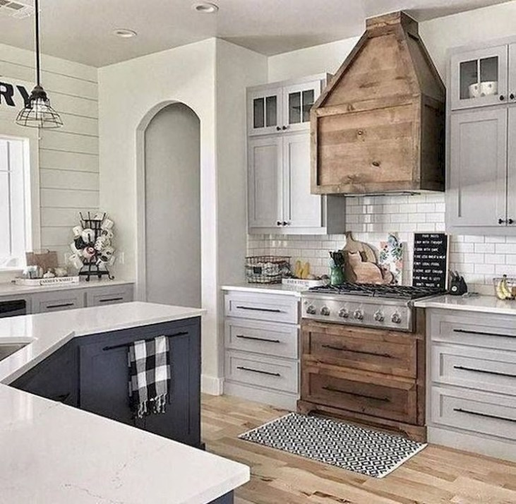 Amazing Farmhouse Kitchen Design Ideas46