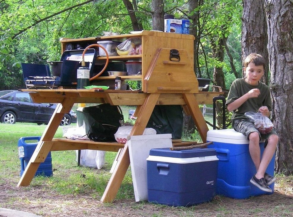 Cheap Kitchen Ideas For Outdoor Camping 42