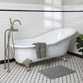 Cool Bathrooms Ideas With Clawfoot Tubs02