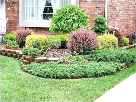 Enchanting Front Of House Landscaping Ideas10
